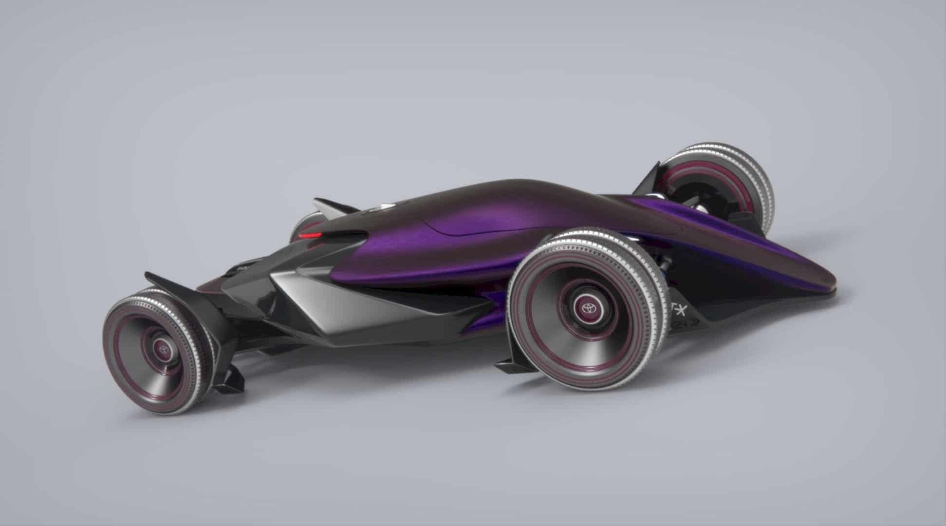 Toyota Car FT X Race Car 11