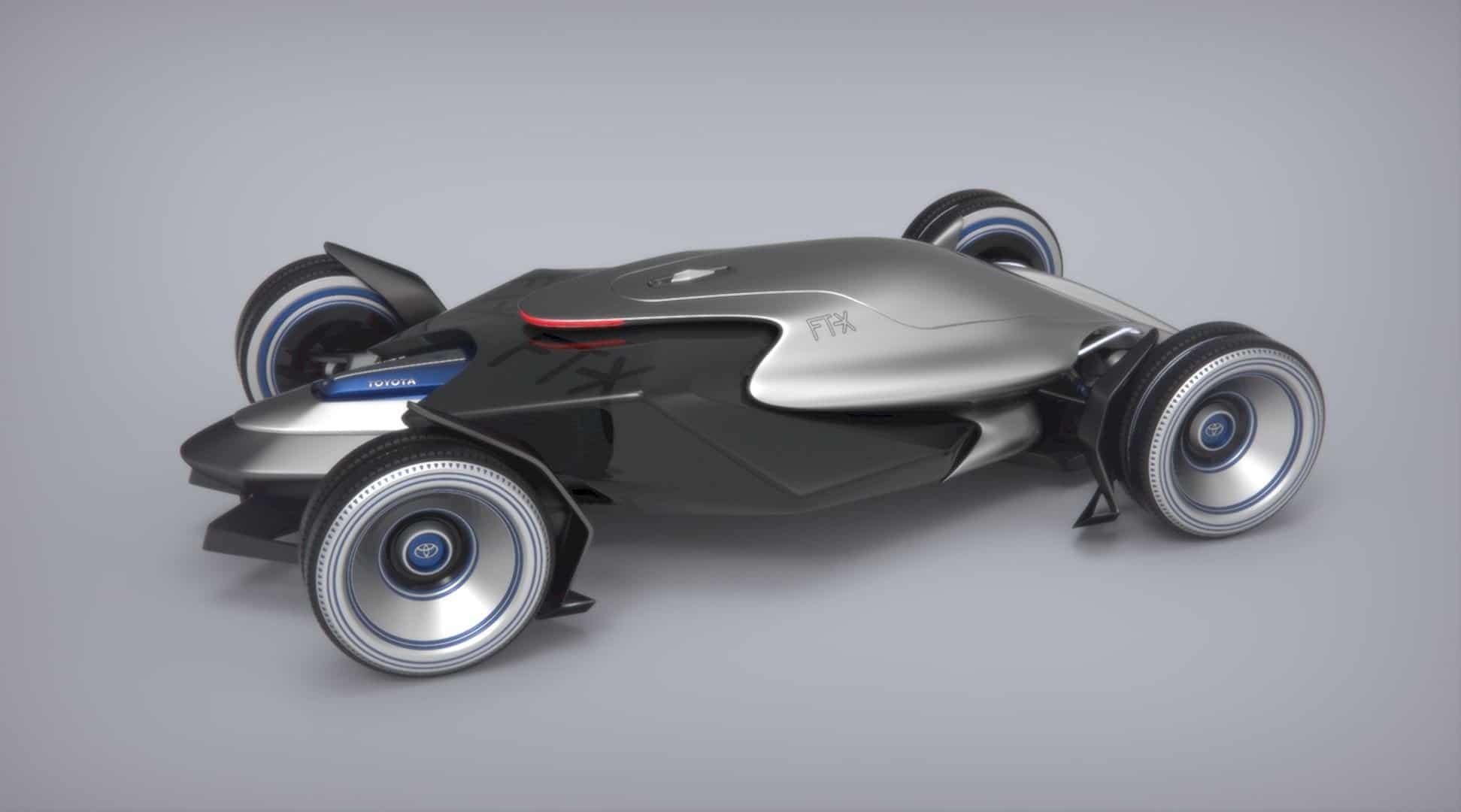 Toyota Car FT X Race Car 12