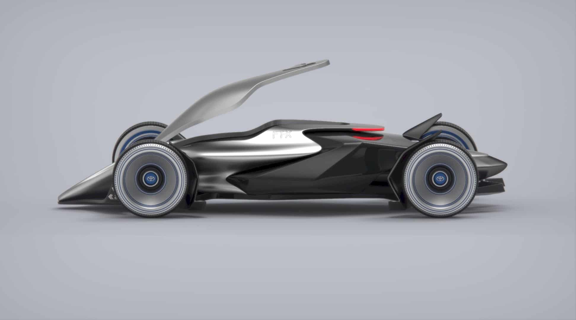 Toyota Car - FT-X Race Car: A Conceptual Design Project of A Futuristic Race Car