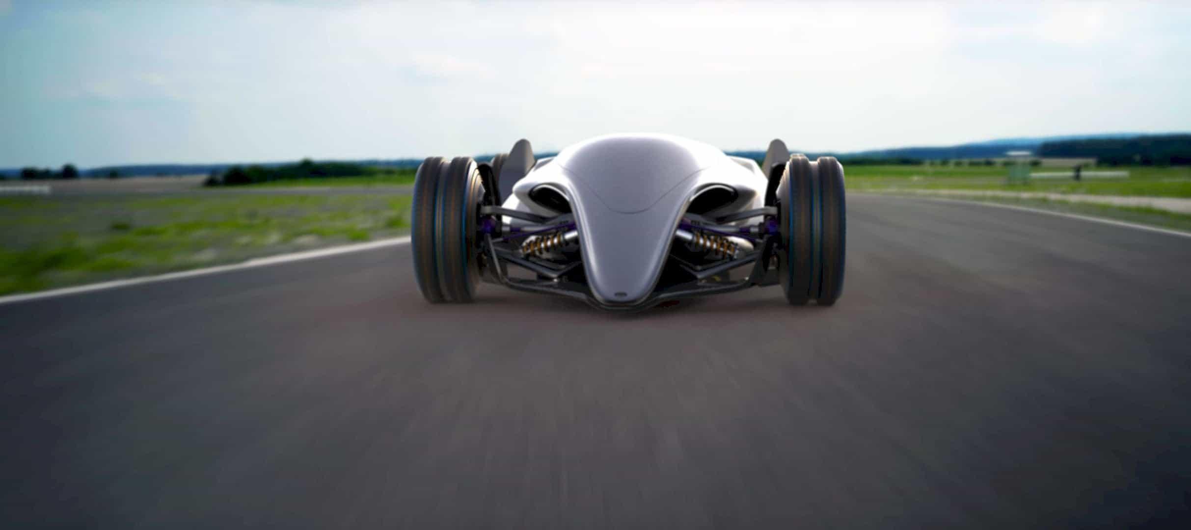Toyota Car FT X Race Car 15
