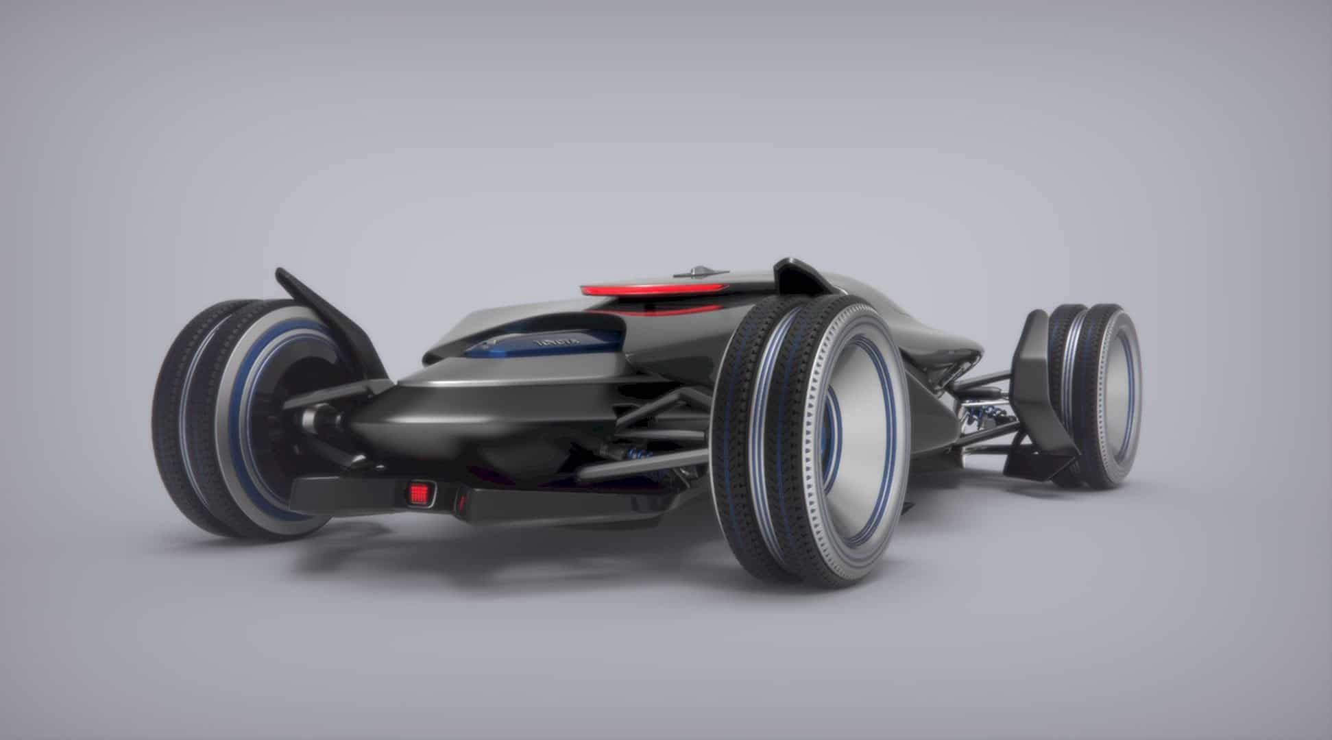 Toyota Car FT X Race Car 16