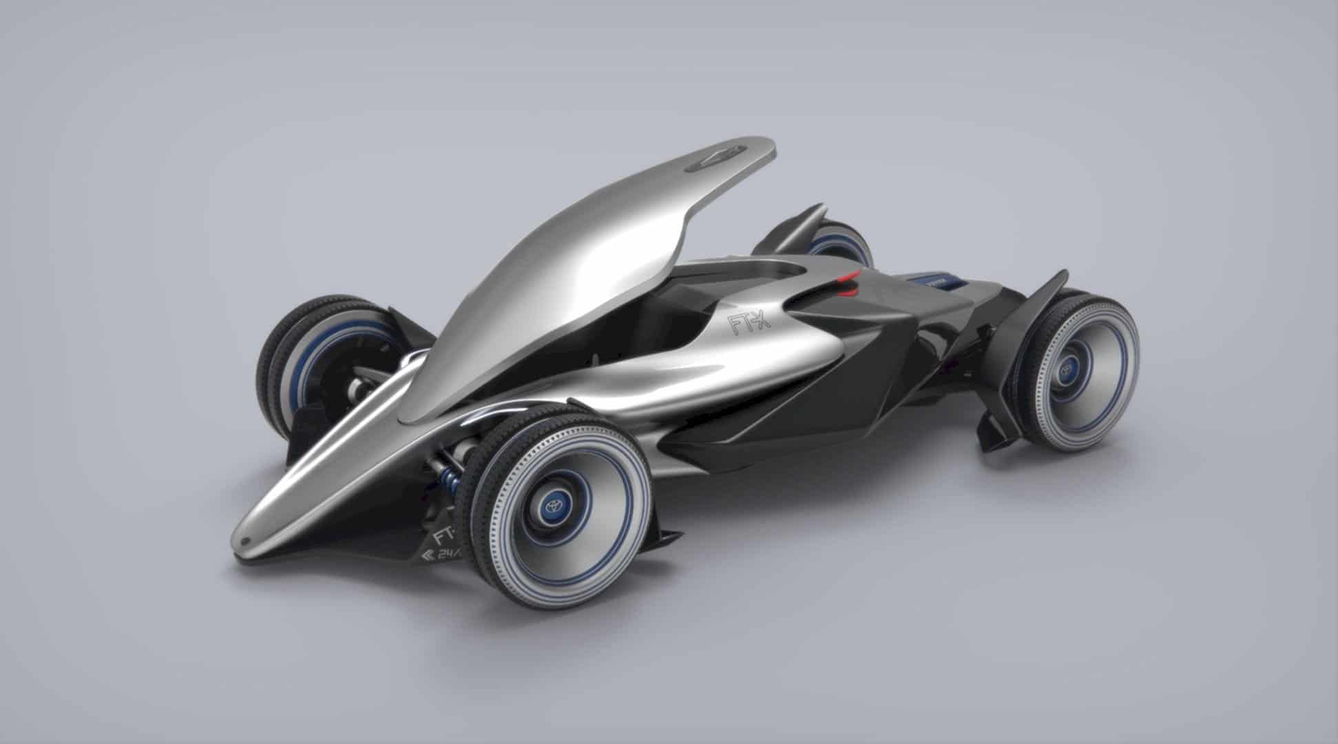 Toyota Car FT X Race Car 2