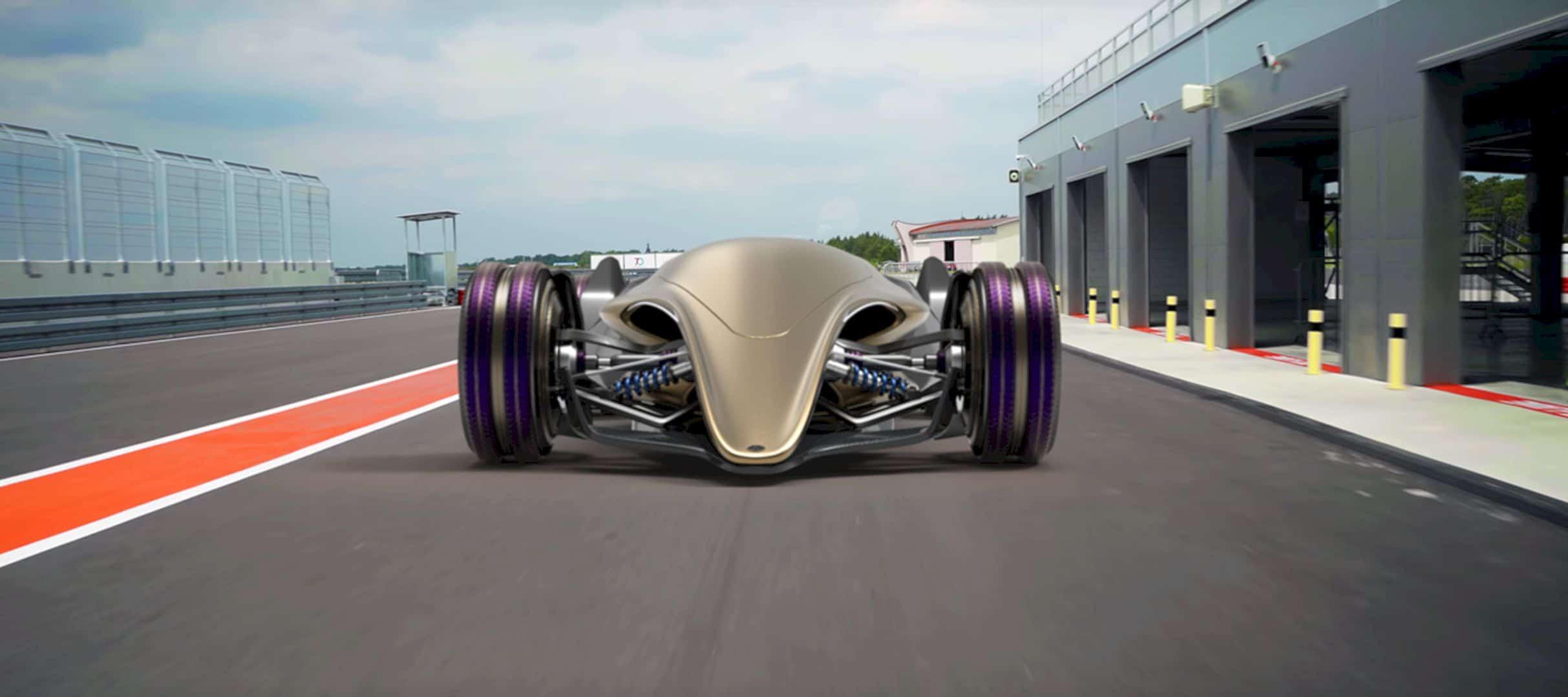 Toyota Car FT X Race Car 4