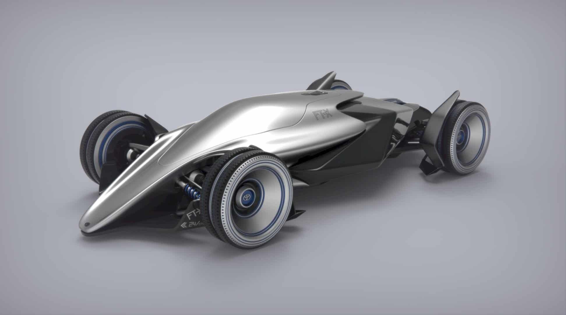Toyota Car FT X Race Car 6
