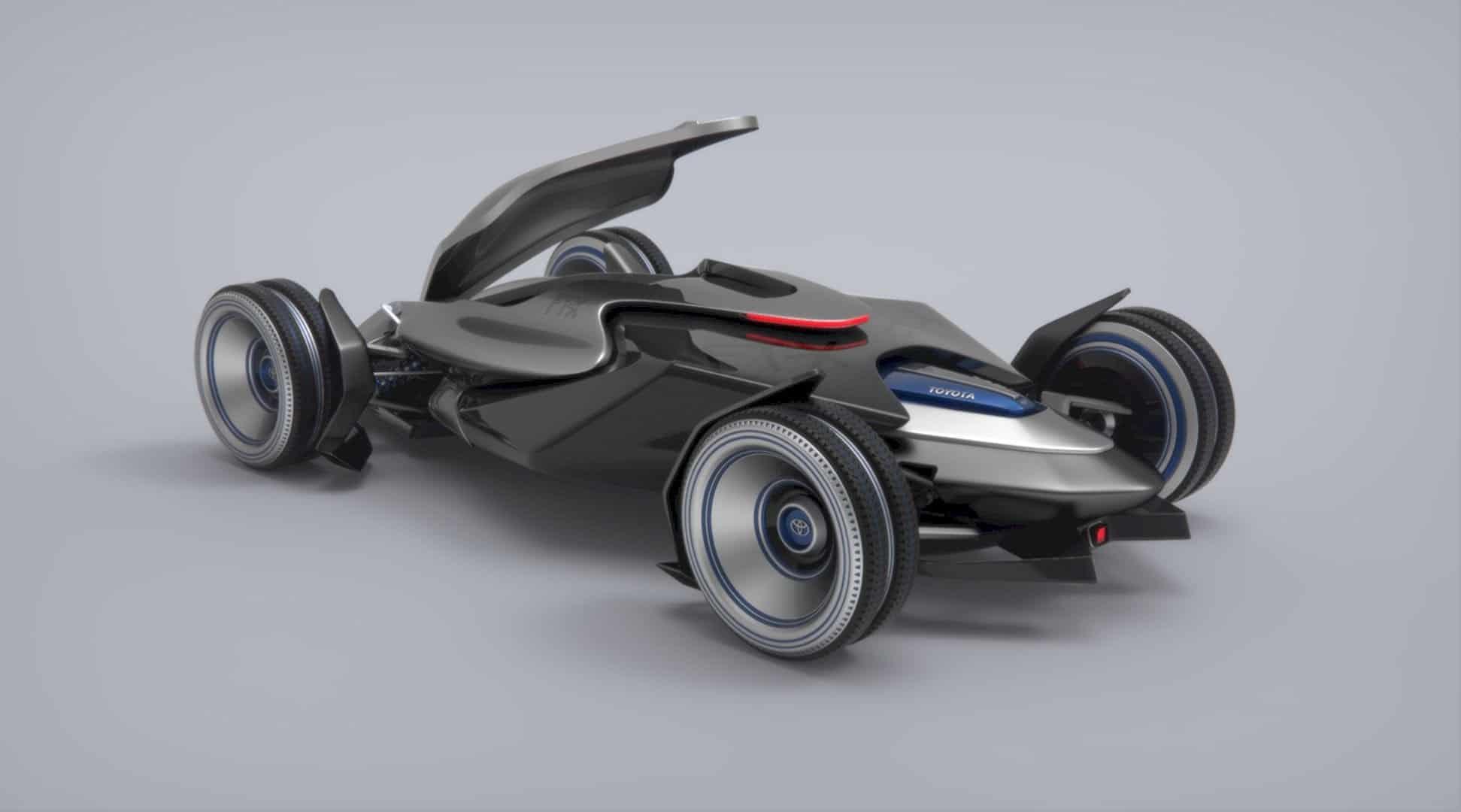 Toyota Car FT X Race Car 7