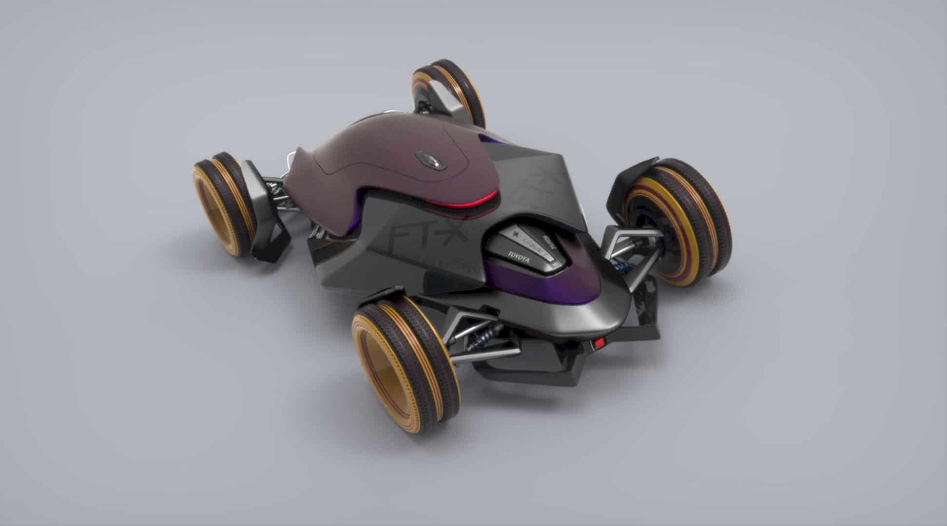 Toyota Car FT X Race Car 8