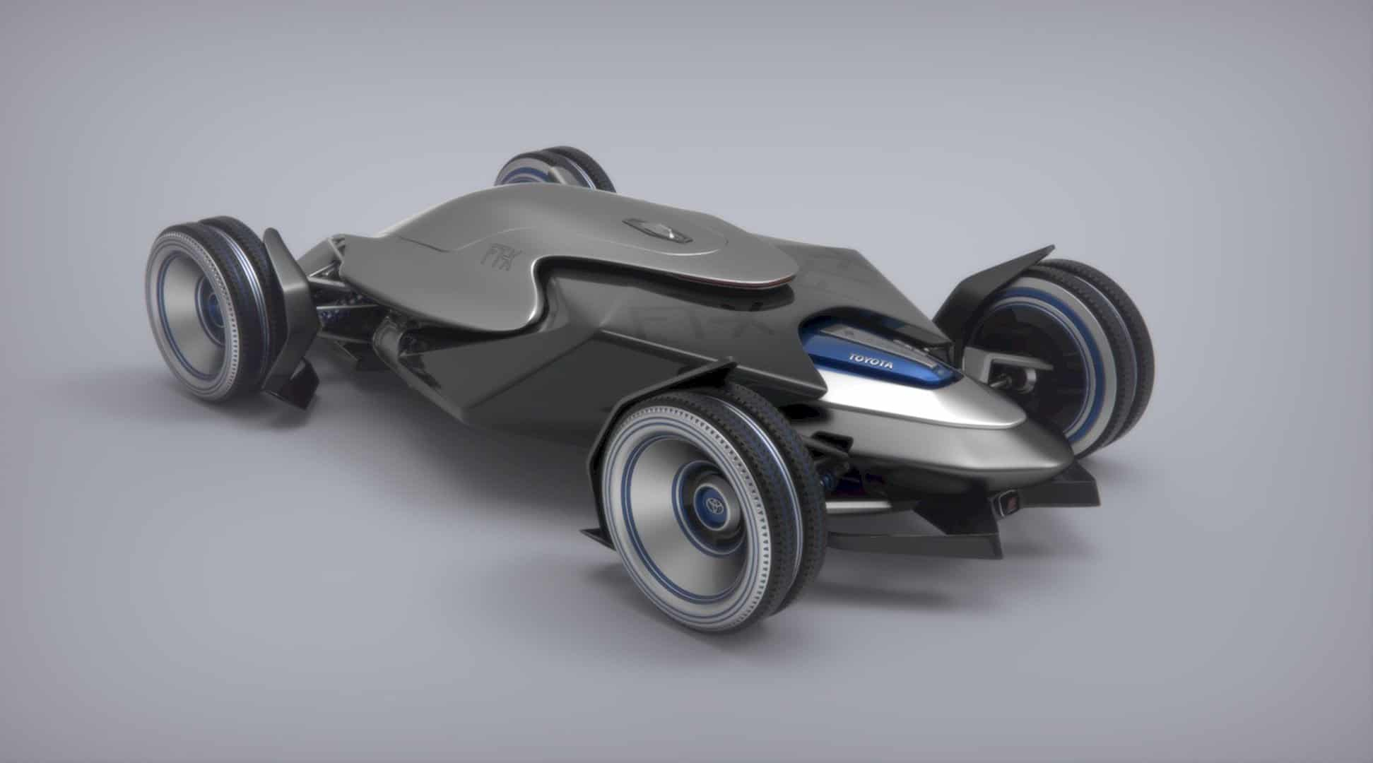 Toyota Car FT X Race Car 9