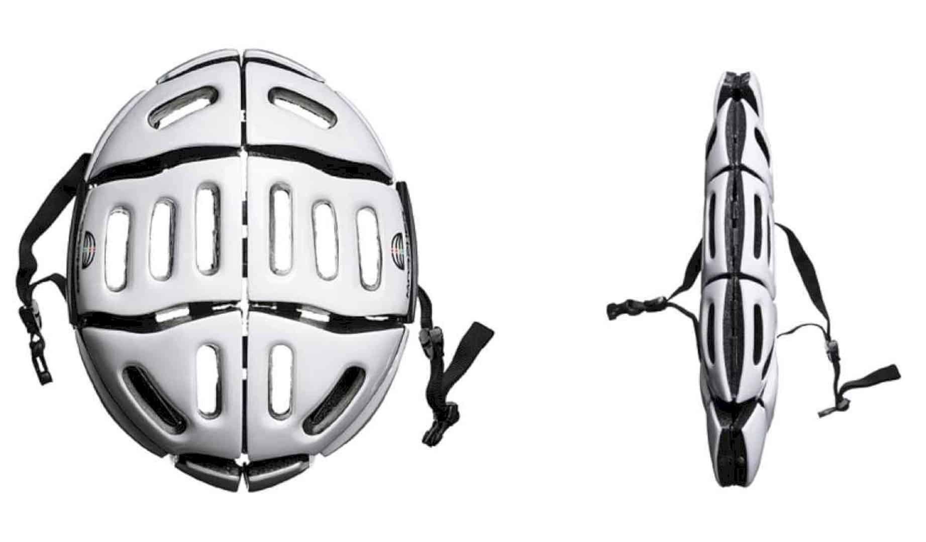 Morpher Helmet: Award Winning Folding Helmet