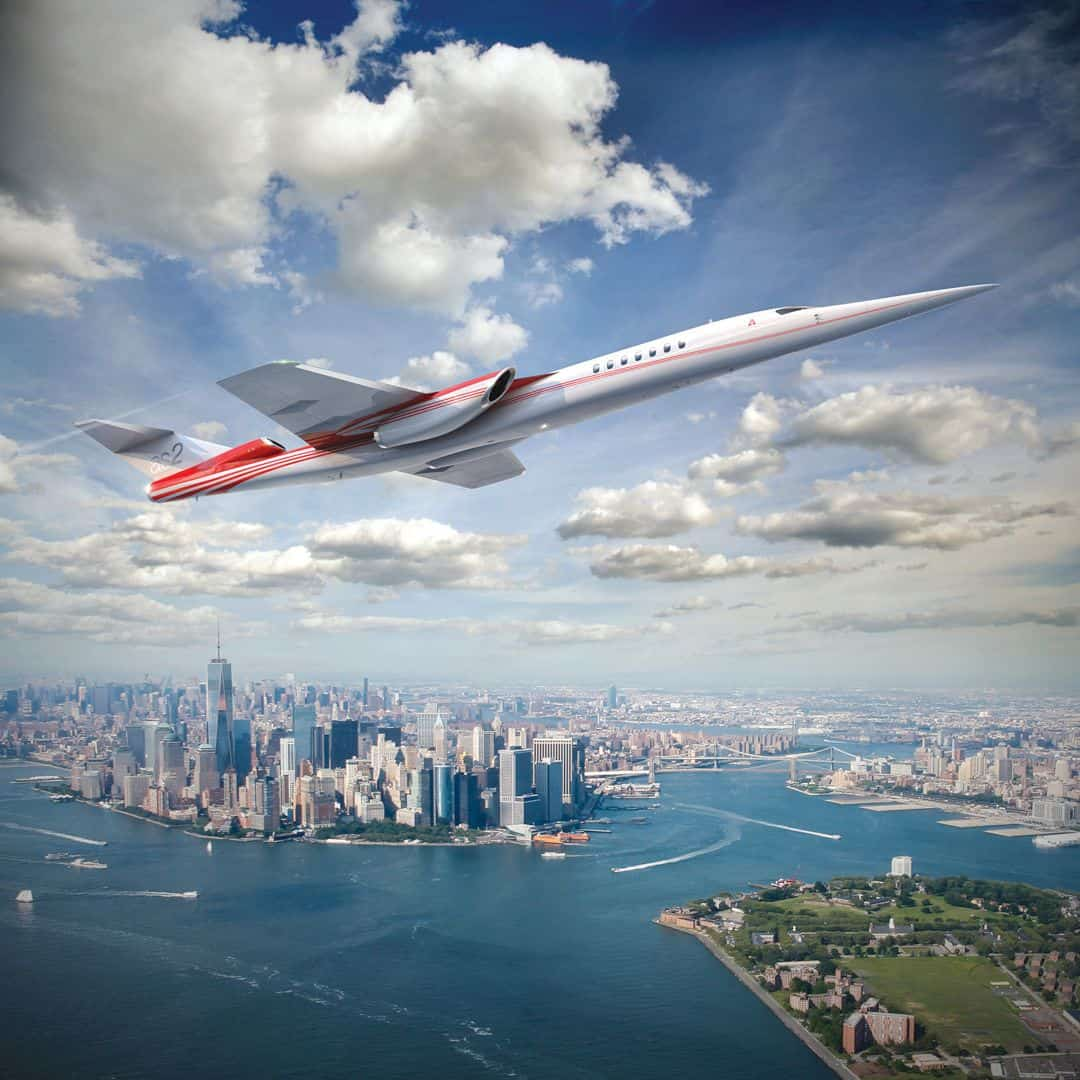 The Aerion As2 Supersonic 2