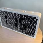 FluidClock: The Customizable LED Clock for Home and Business