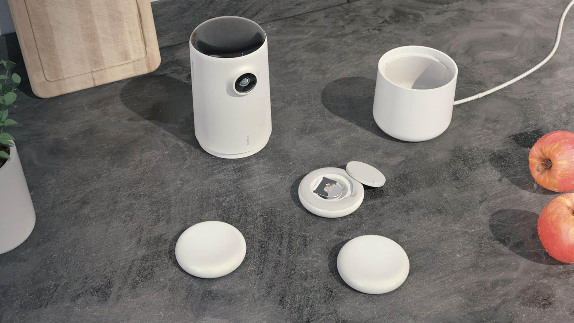 "Nokia ""Kitchen Mate"": A Device with A Real-time Feedback of the Food Impact"