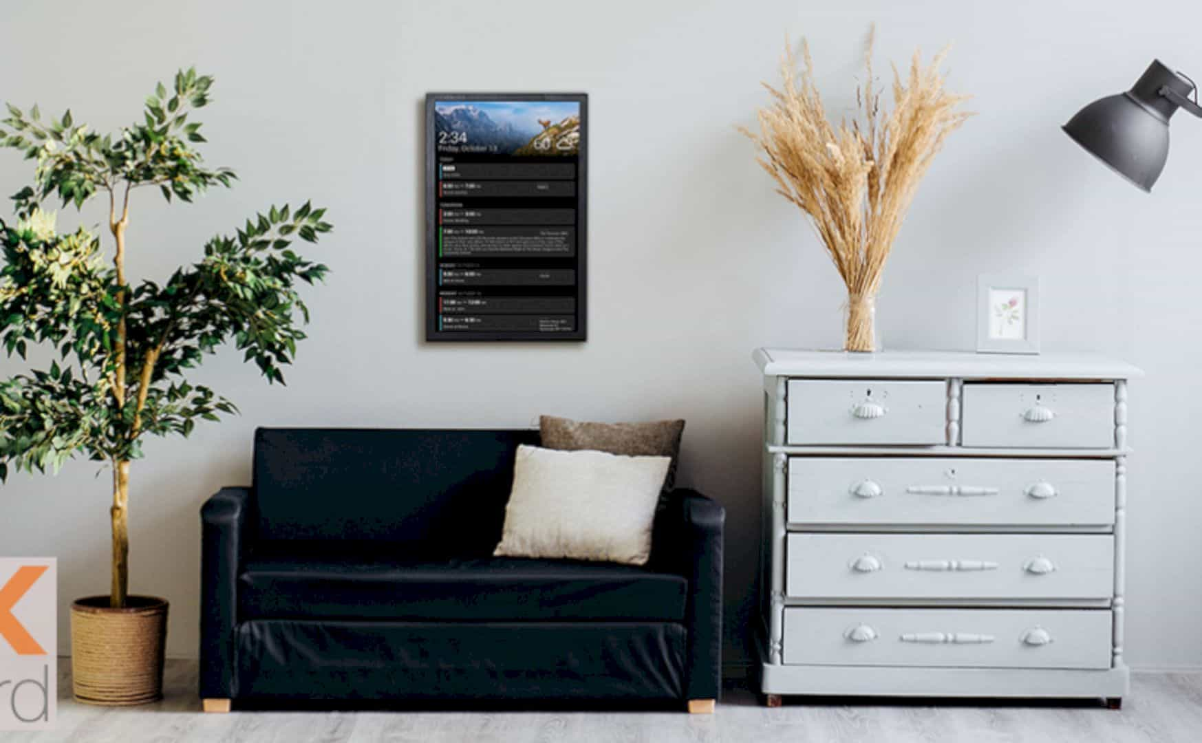 DAKBoard: The Revolutionary Wall-Mounted Display