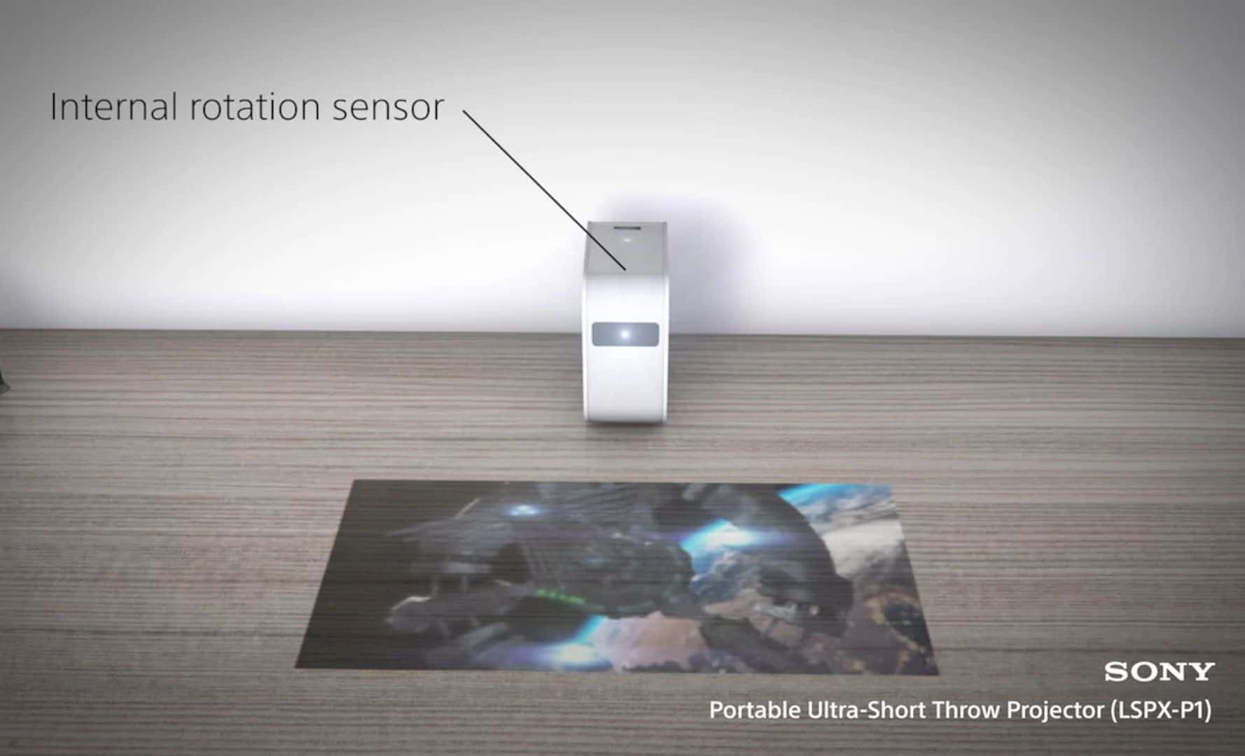 Sony Portable Ultra Short Throw Projector 3