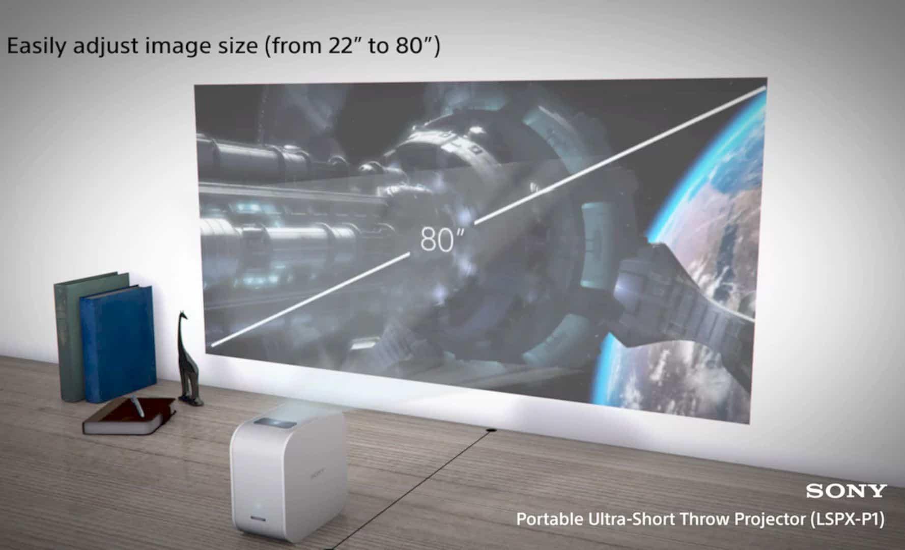 Sony Portable Ultra Short Throw Projector 4