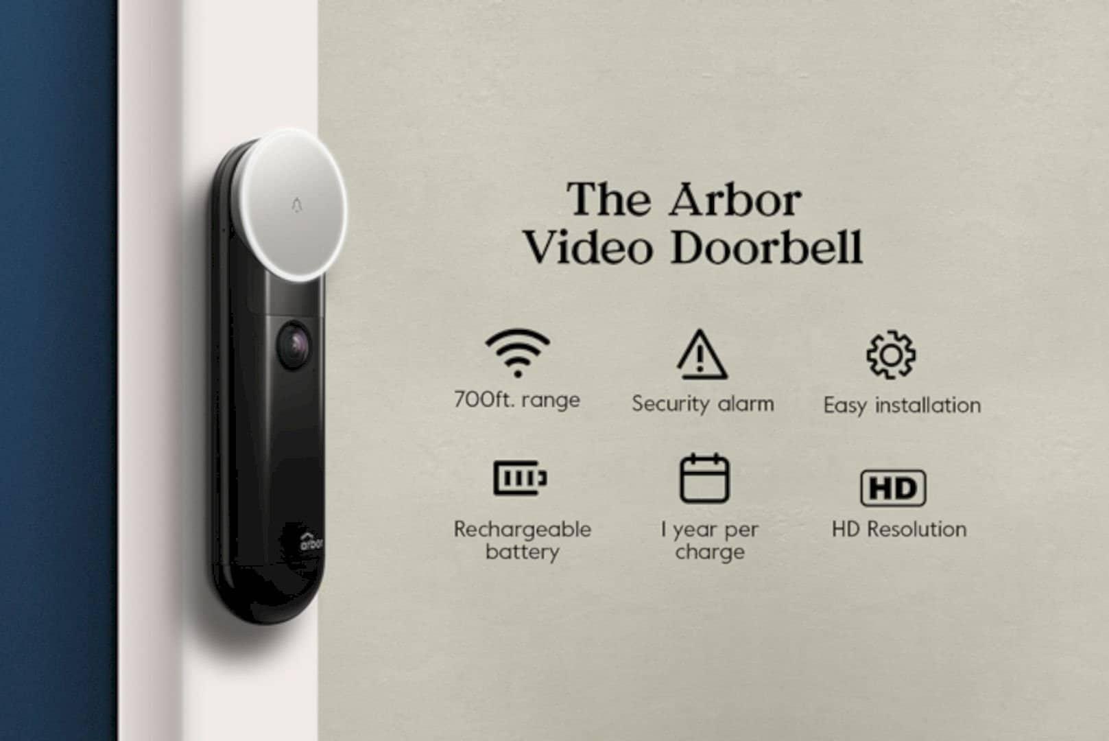 The Arbor Instant Video Doorbell 10