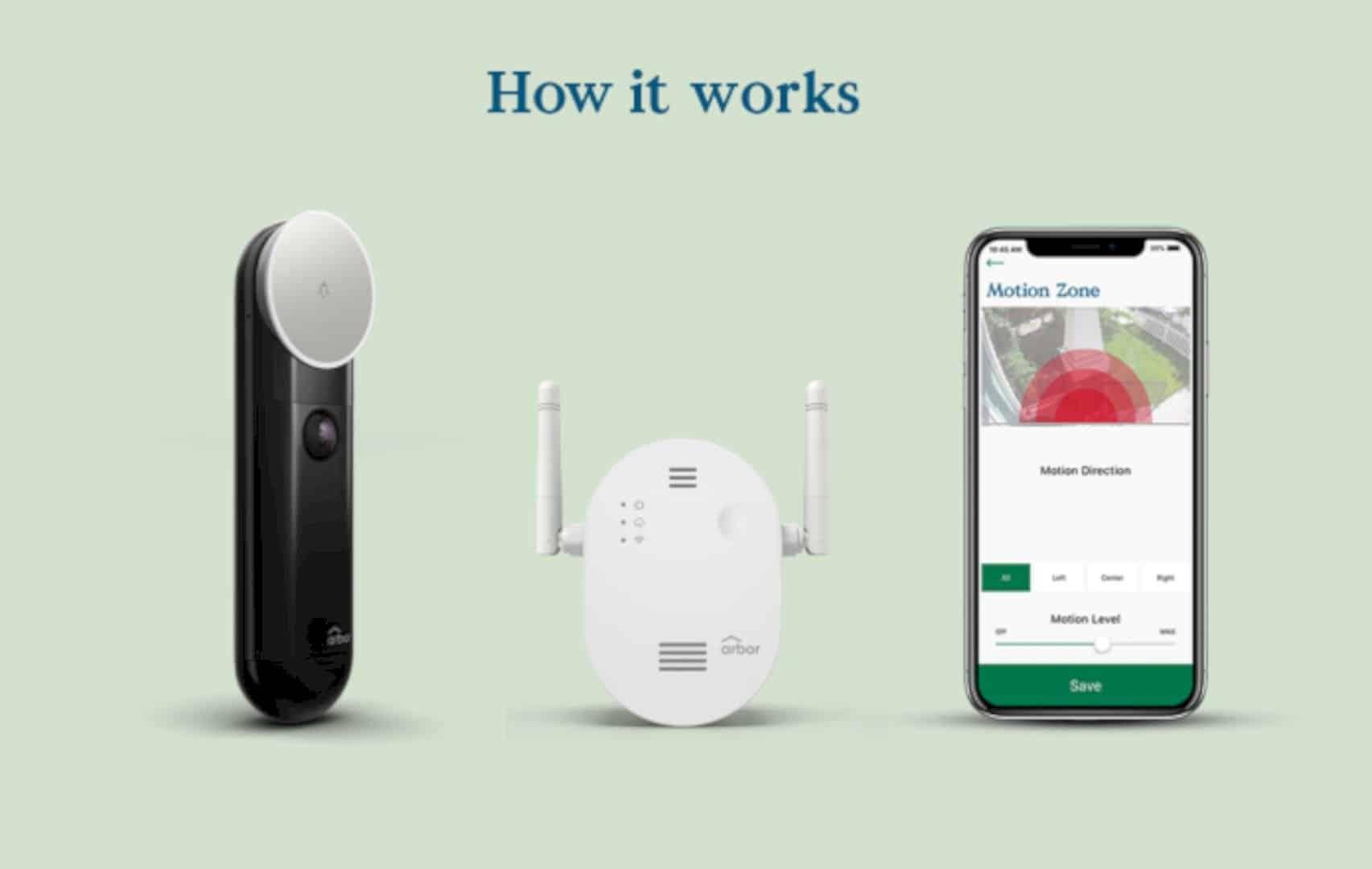 The Arbor Instant Video Doorbell 5