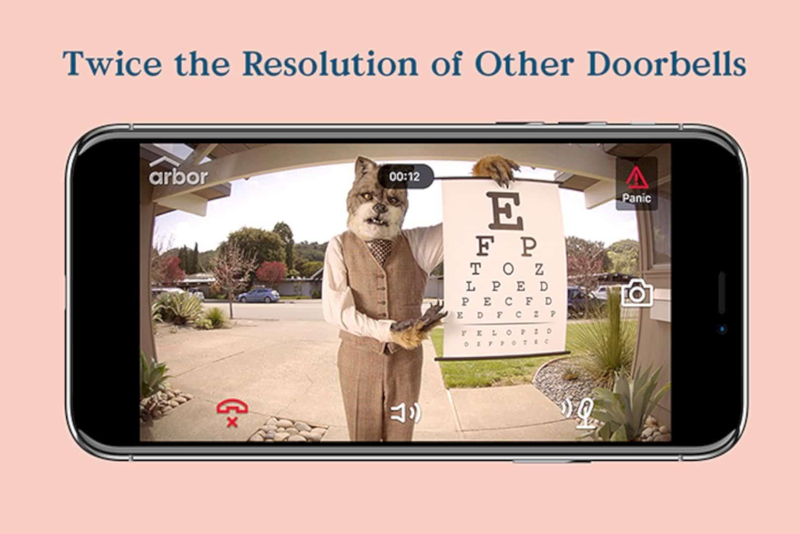 The Arbor Instant Video Doorbell 6
