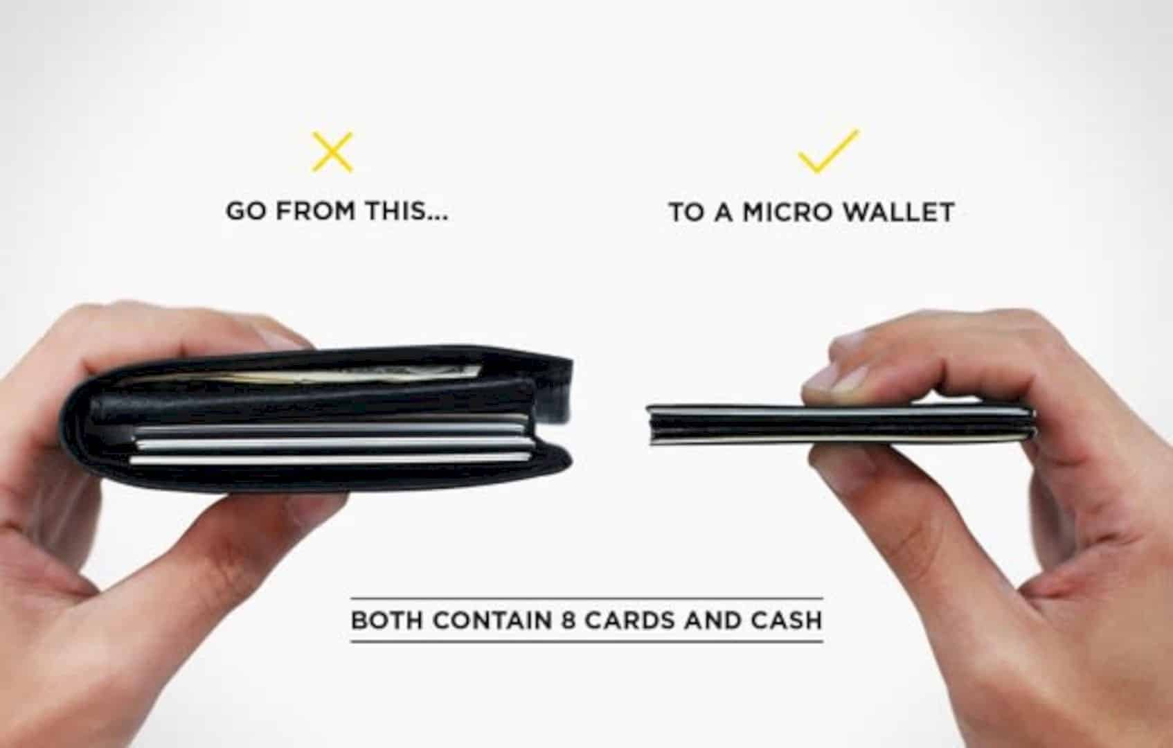 The Micro Wallet: Precise Down to The Micro-millimeter