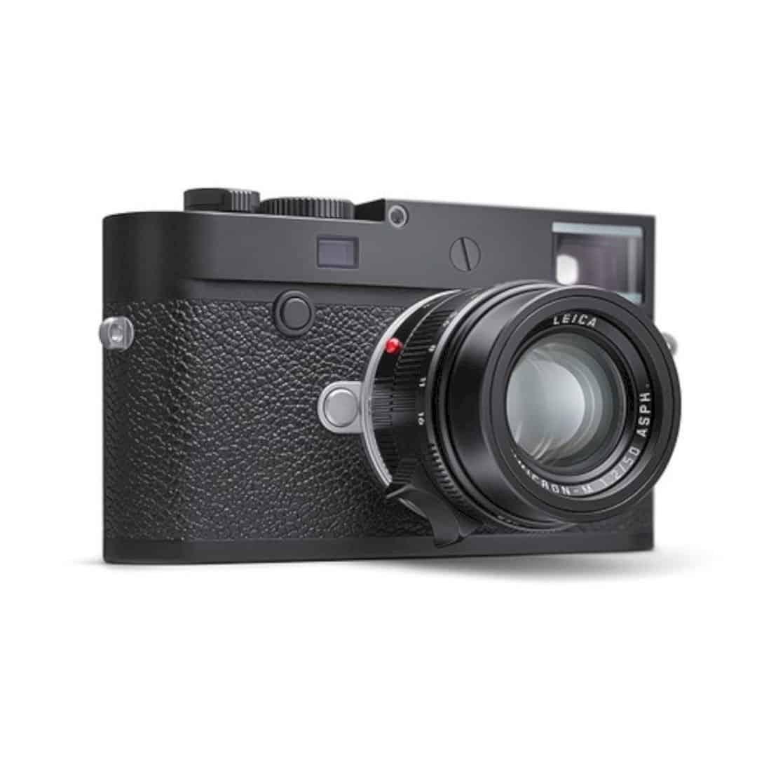 The New Leica M10 P Black Chrome 1