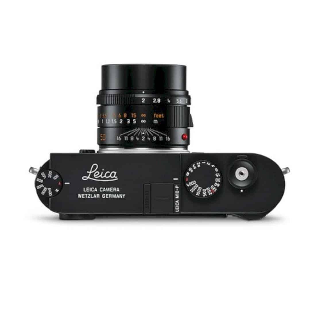 The New Leica M10 P Black Chrome 3