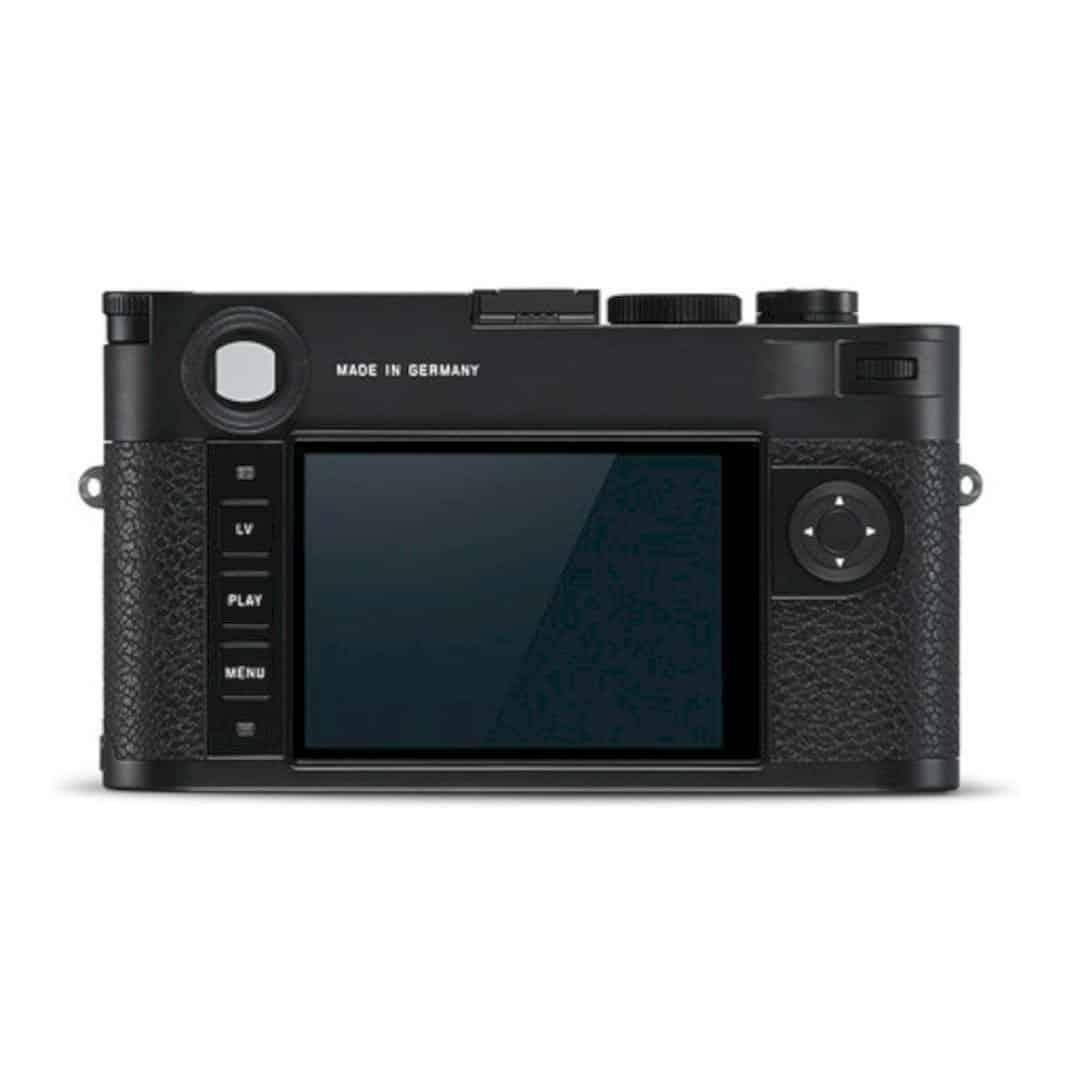 The New Leica M10 P Black Chrome 5