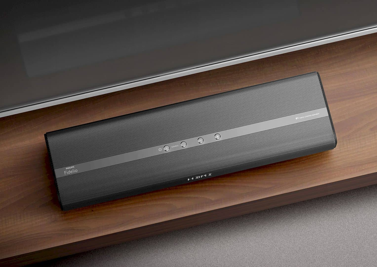 The Philips Fidelio Soundbar 4