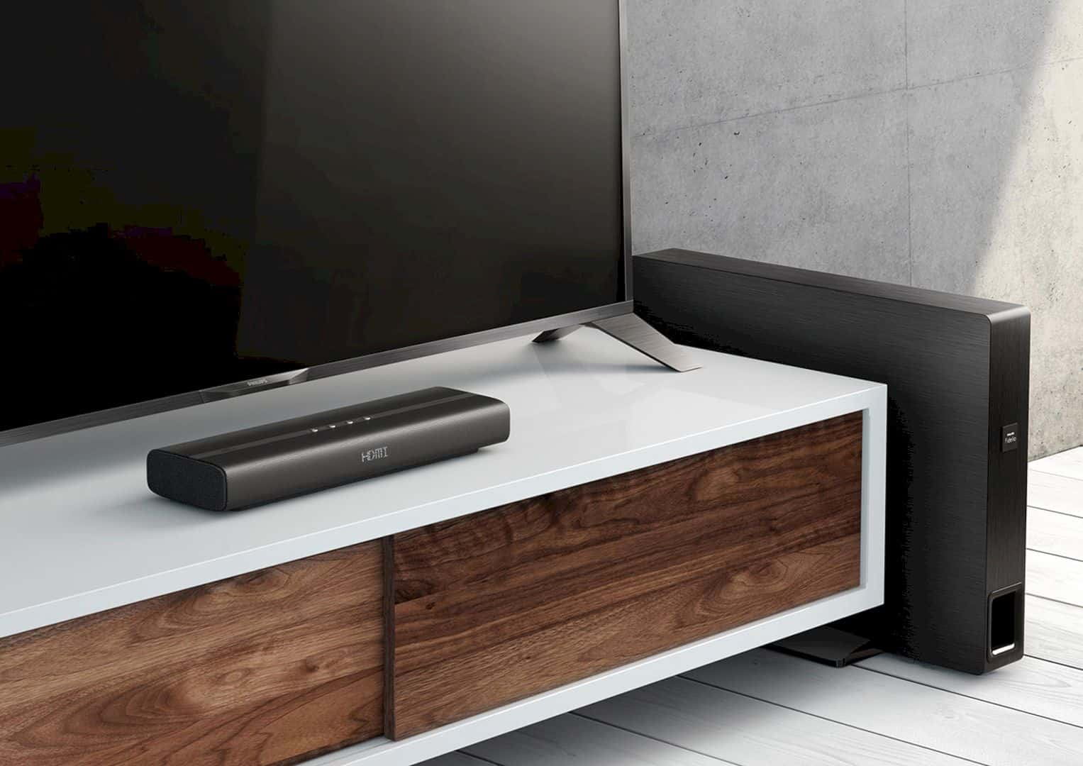 The Philips Fidelio Soundbar: The­ Compact and Immersive Cinematic Sound System