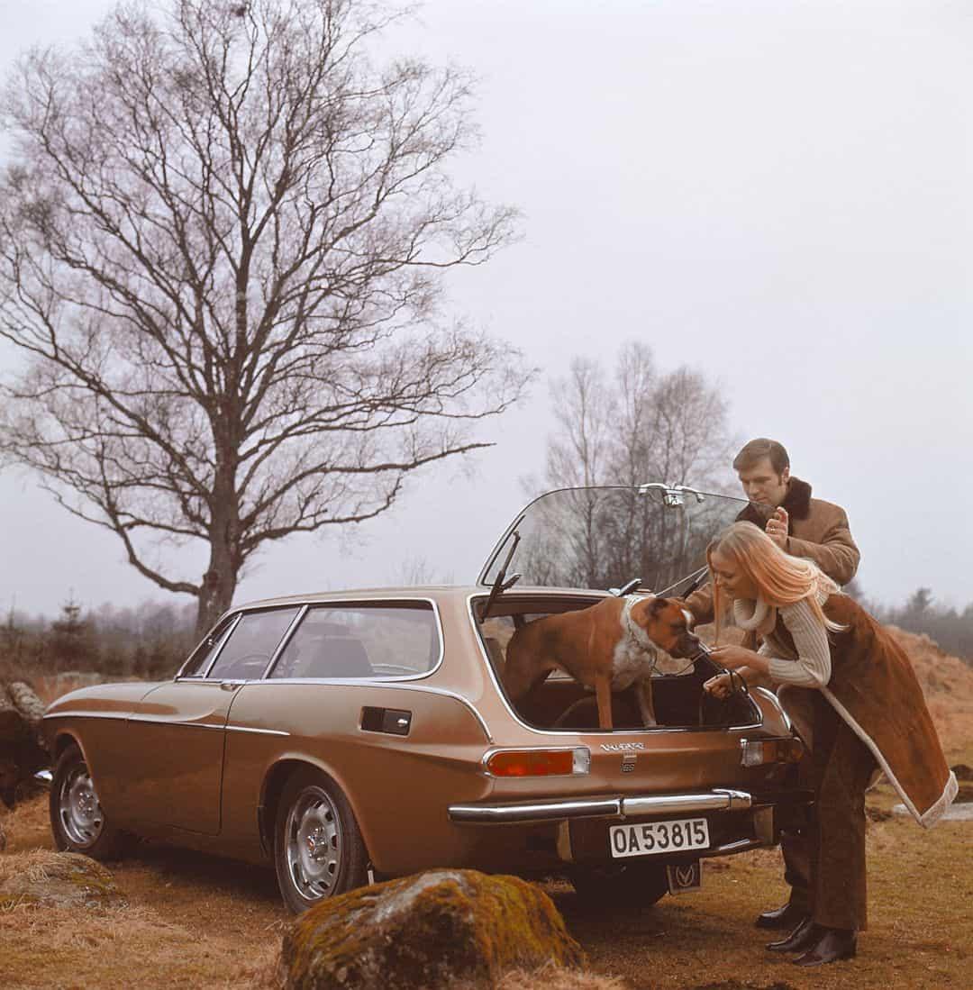 The Volvo 1800es 4