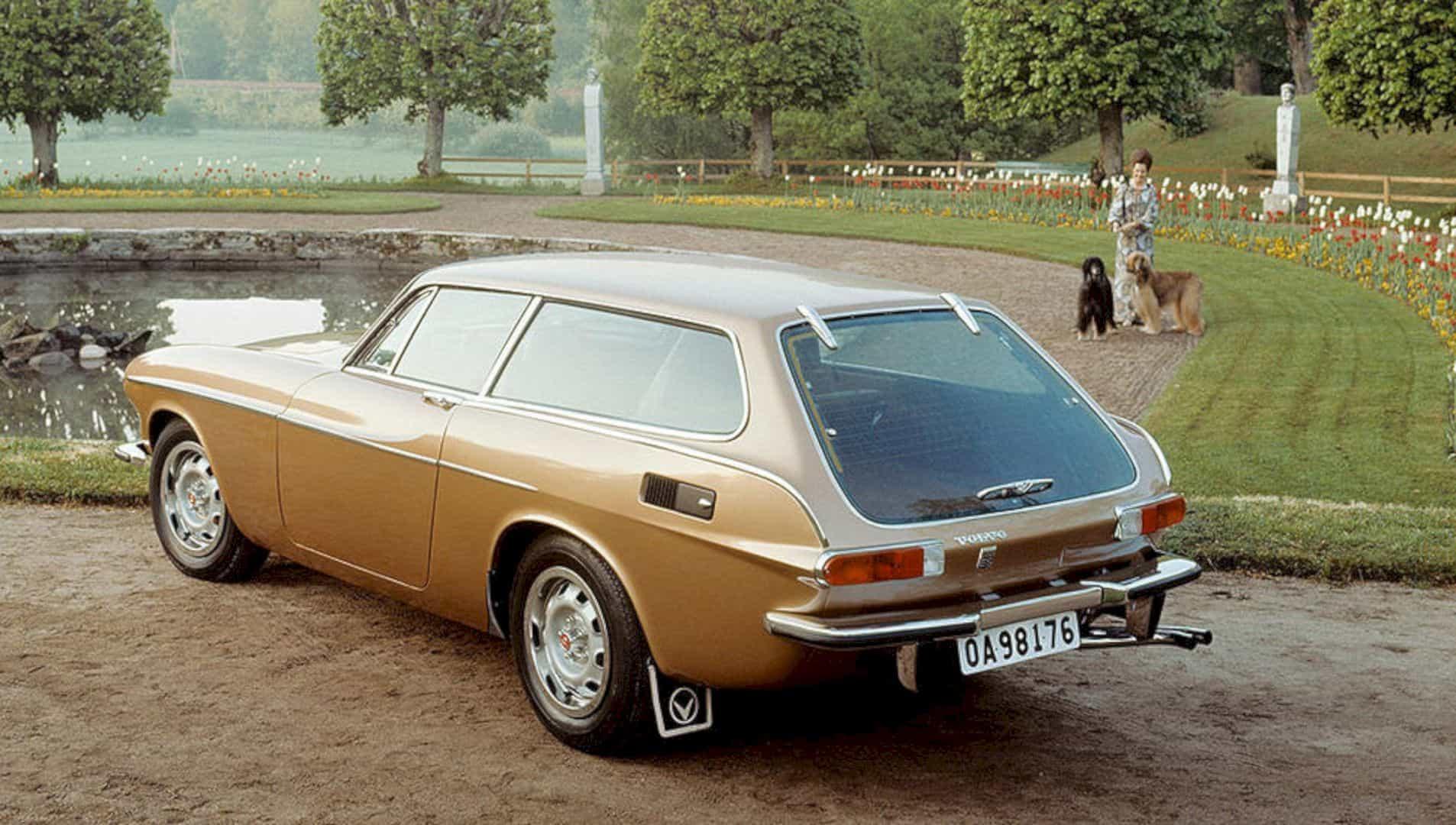 The Volvo 1800es 7