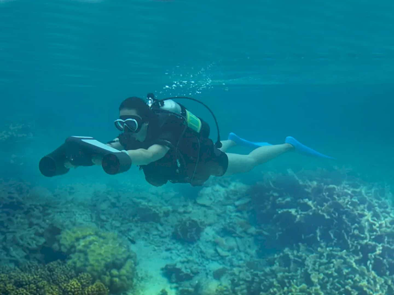 Trident Underwater Scooter 5