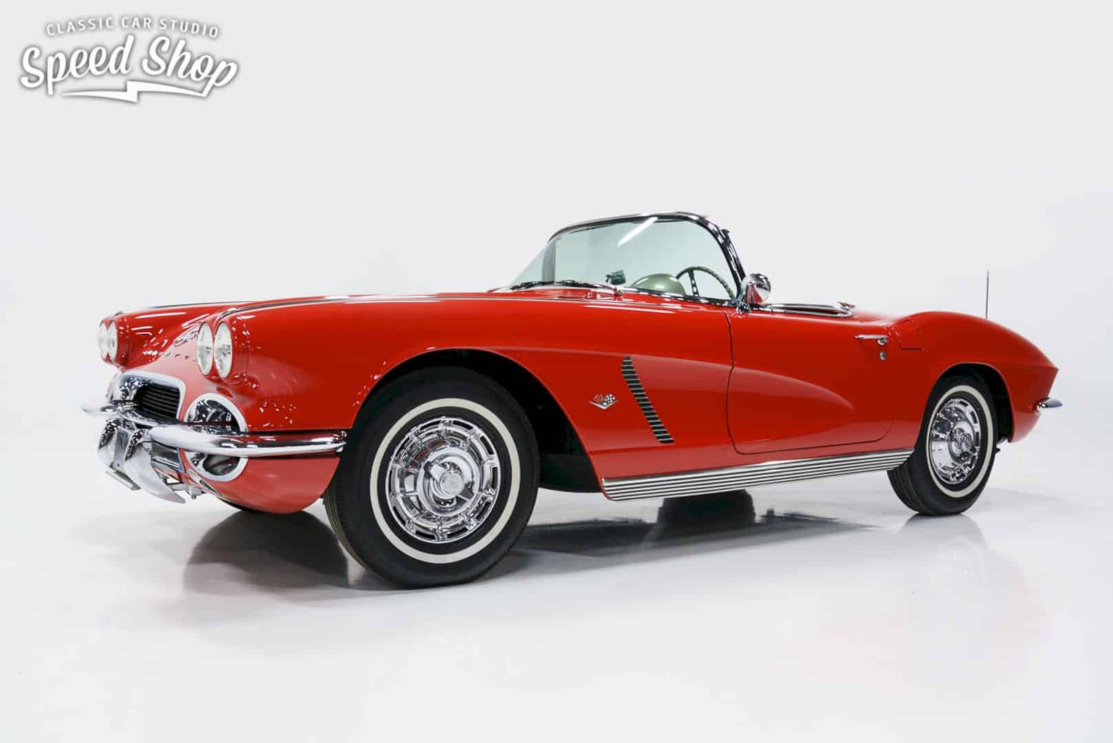 1962 Chevrolet Corvette By Classic Car Studio Shop 7