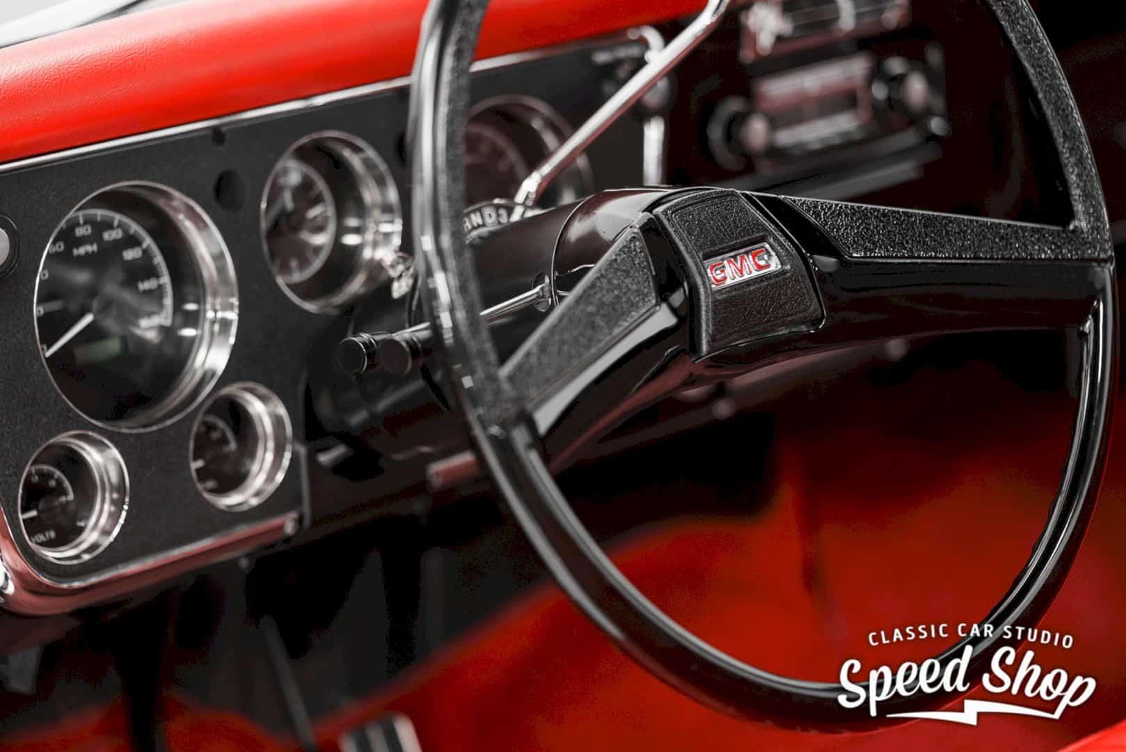 1972 Gmc 1500 Custom Black Betty 3