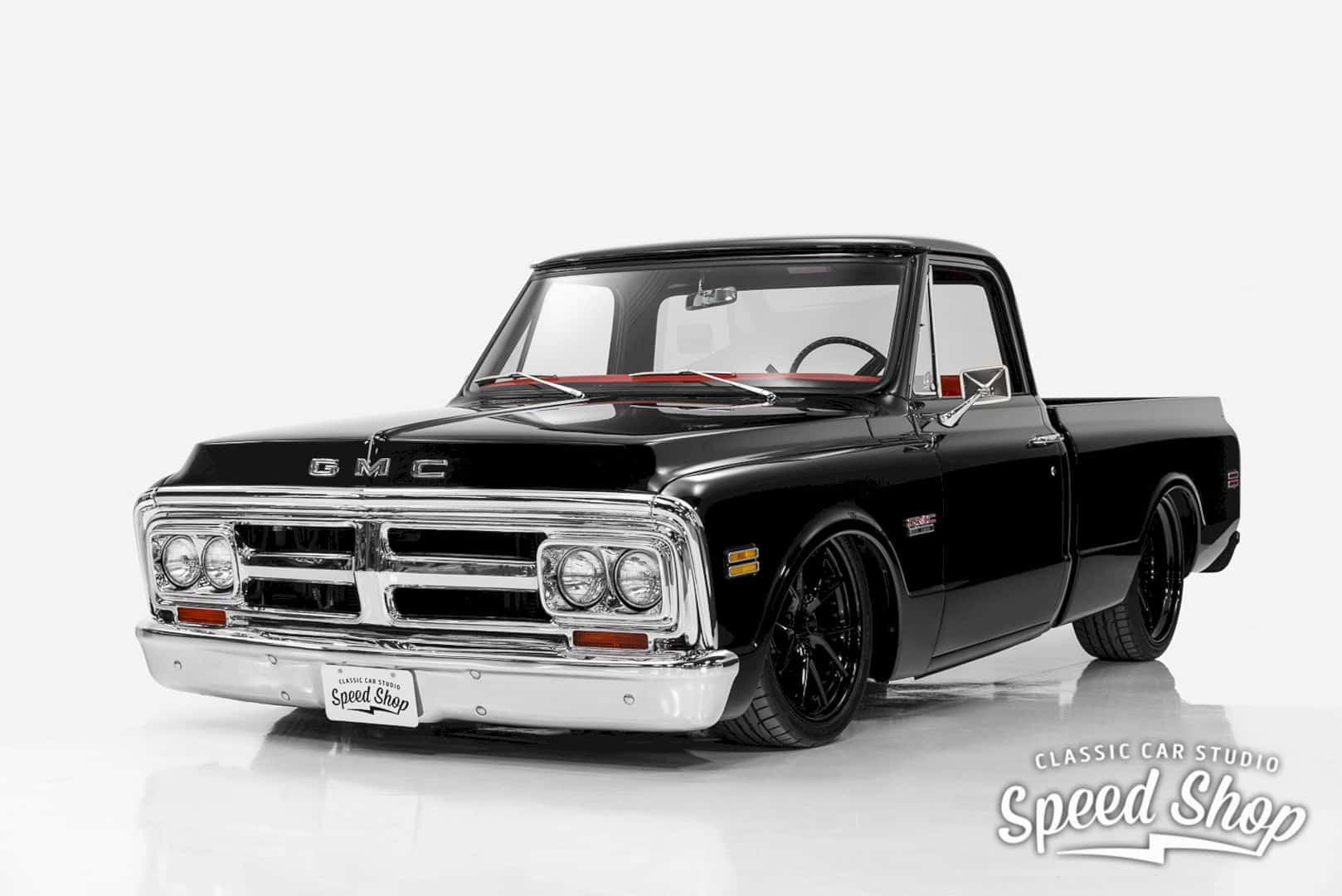 1972 Gmc 1500 Custom Black Betty 7