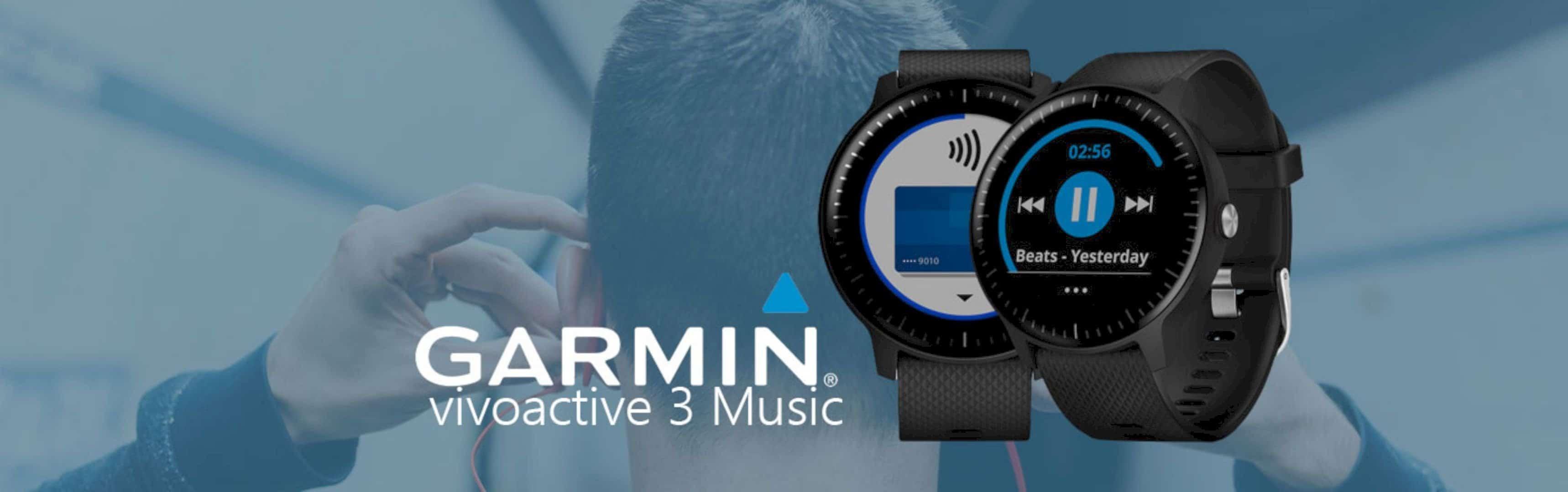 Garmin vívoactive® 3 Music: Your Watch, Your Music, Your Choice