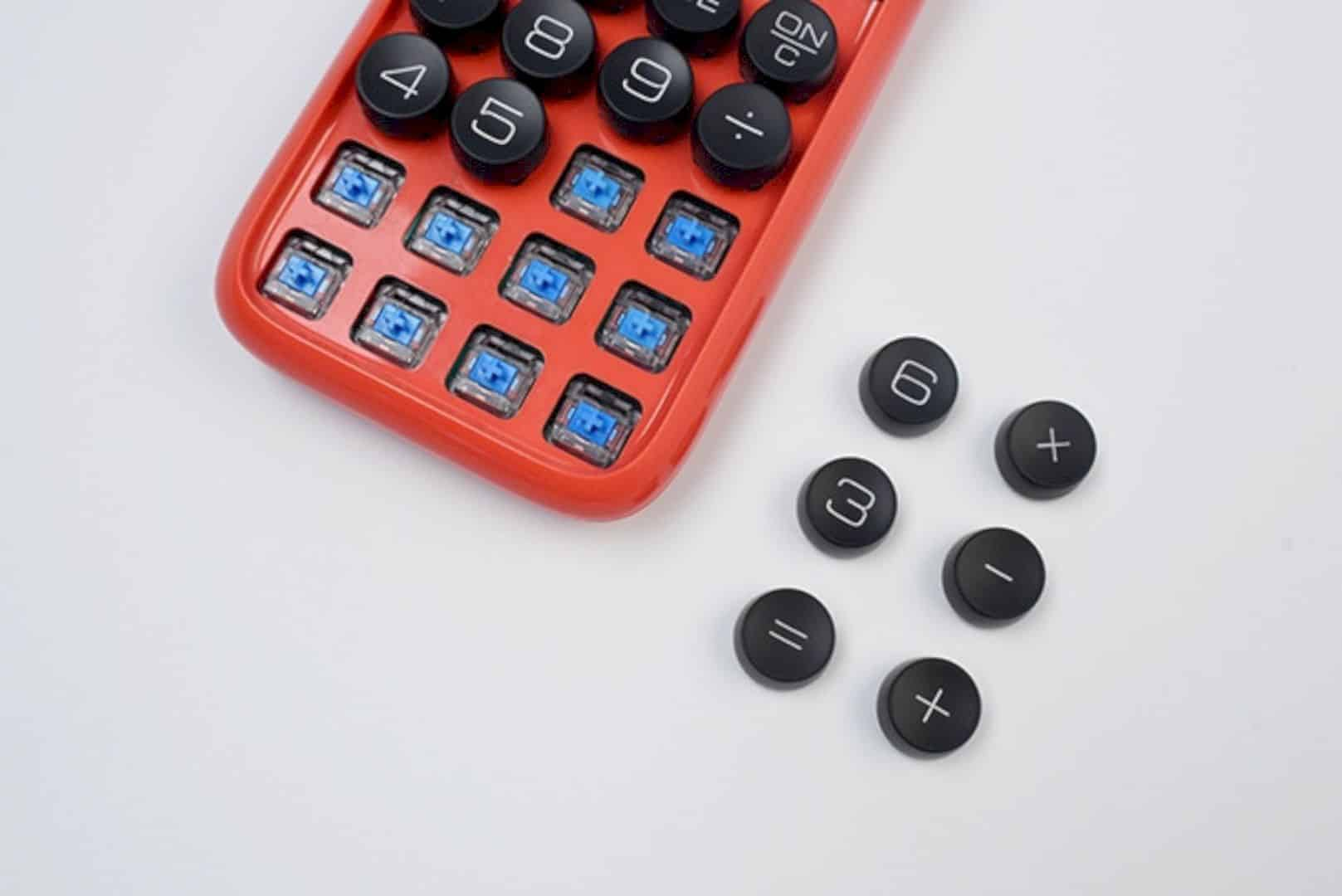 Lofree Digit Calculator: The 1st Retro Mechanical Calculator