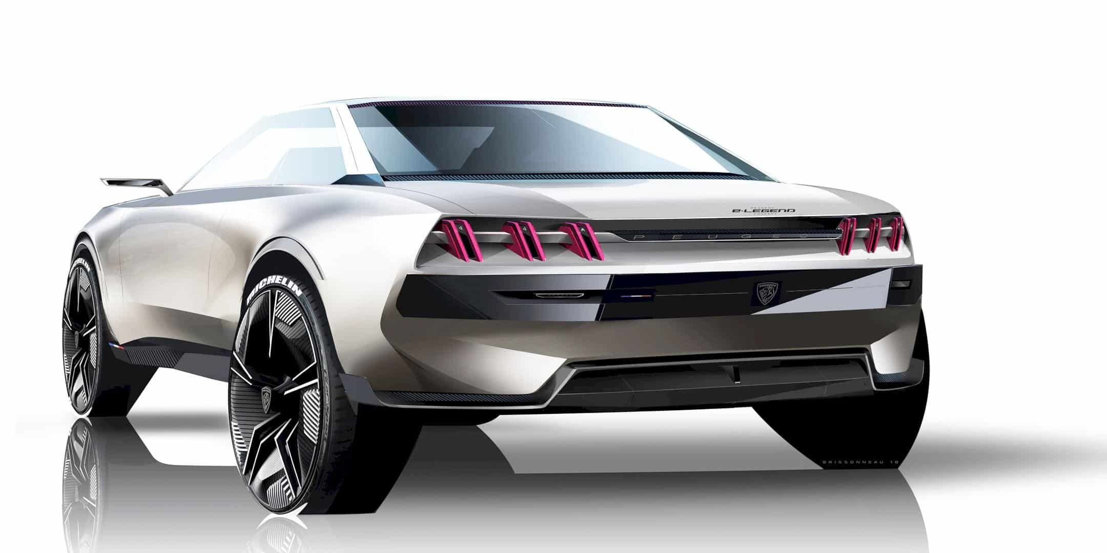 Peugeot E Legend Concept 2