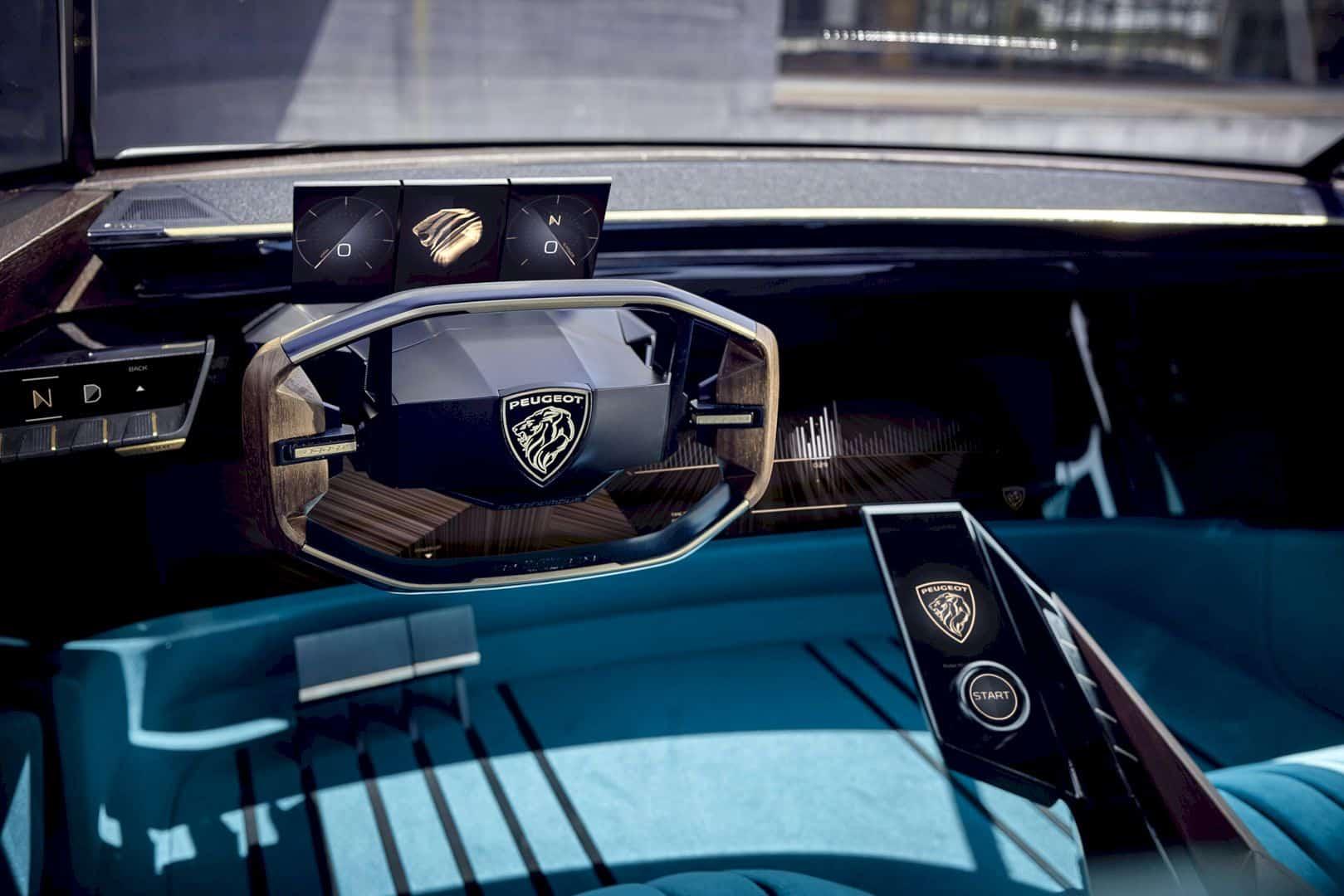 Peugeot E Legend Concept 8