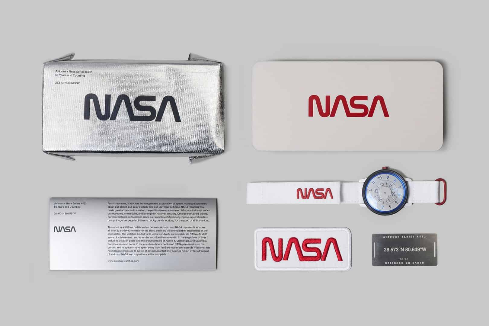 Anicorn × Nasa Automatic Watches Limited Edition 9