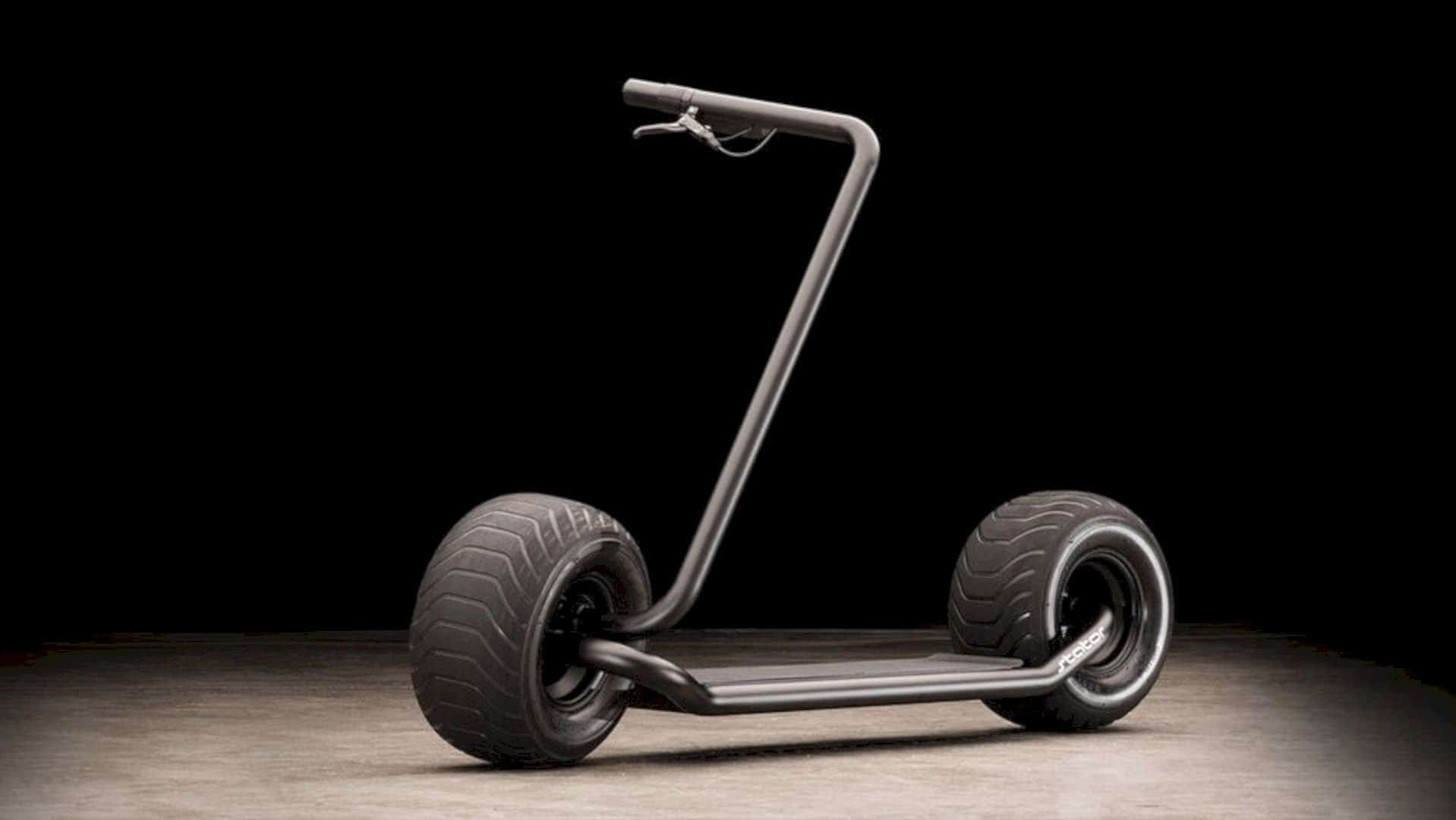 Stator: The Uniquely Shape One of A Kind Scooter