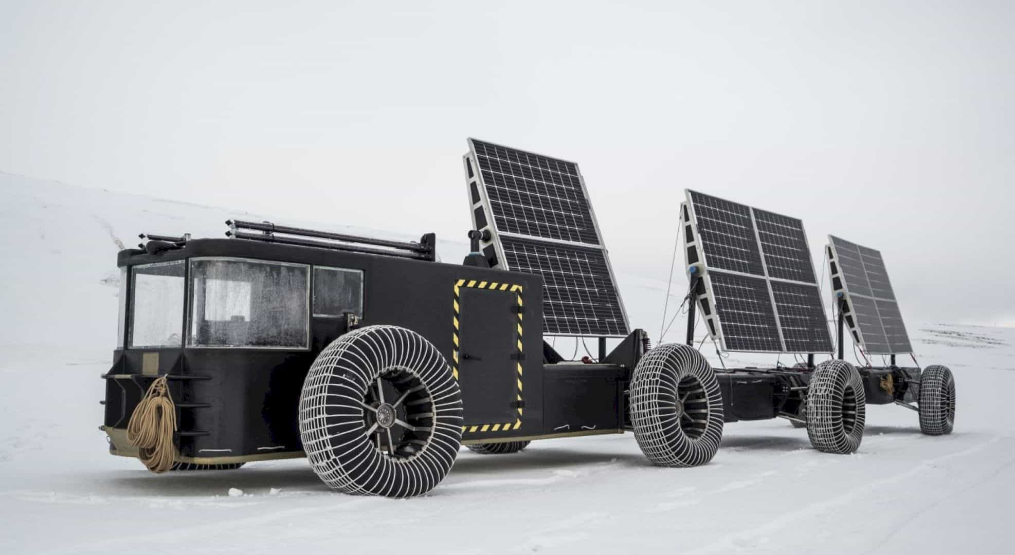 The Solar Voyager 3