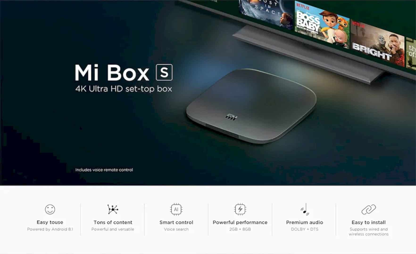 Xiaomi Mi Box S 3