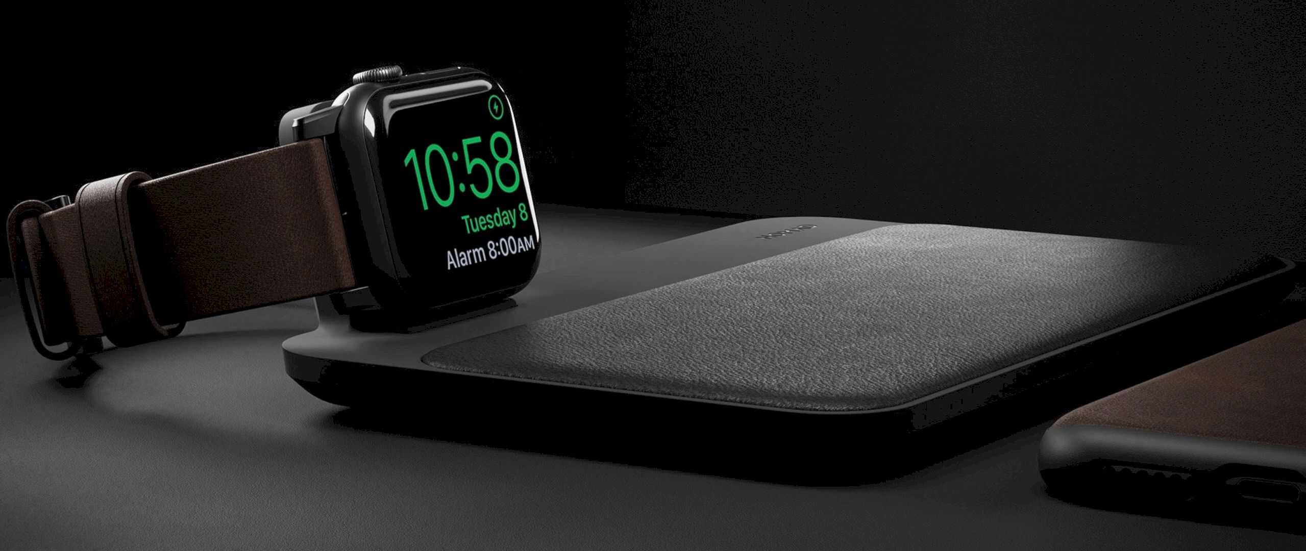 Nomad Base Station Apple Watch Edition 7