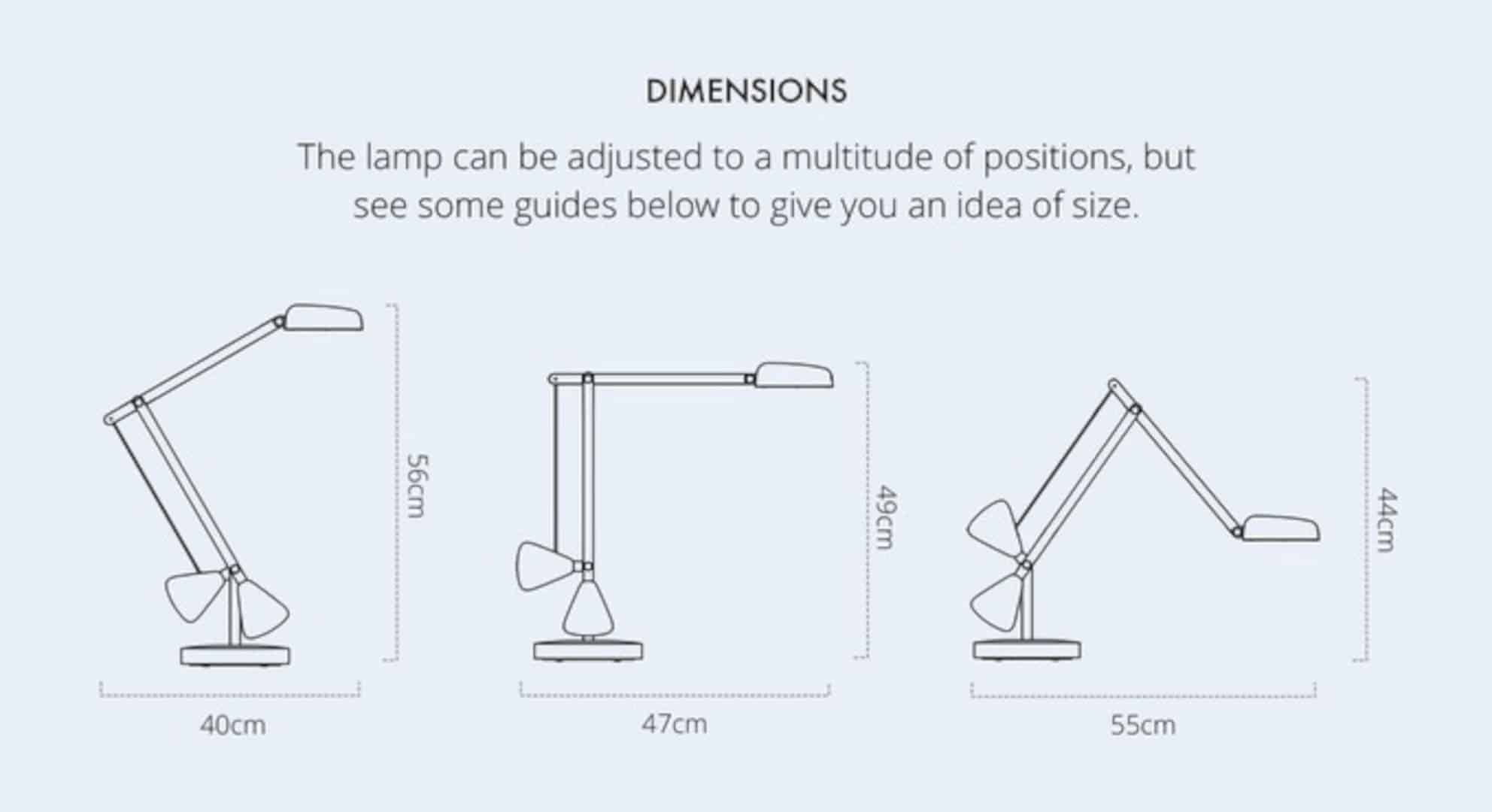 The Herston Self Balancing Desk Lamp 1