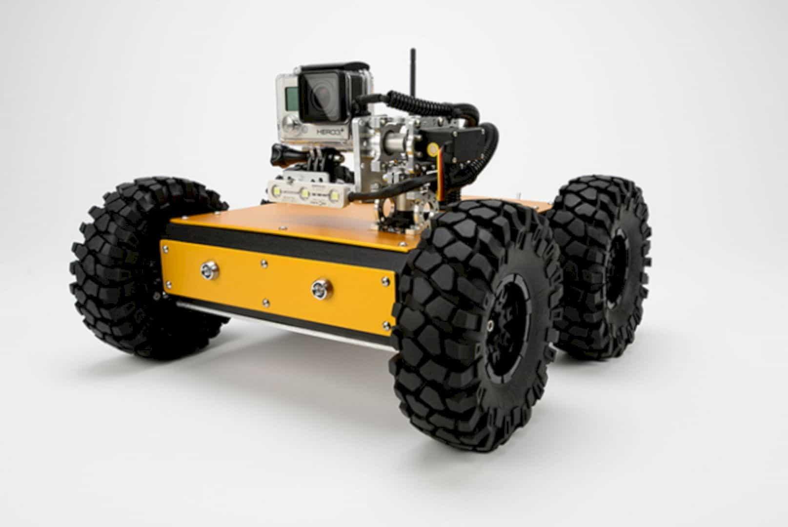 The Pan/Tilt MINIBOT: The Tough Rugged 4WD Smart Robot