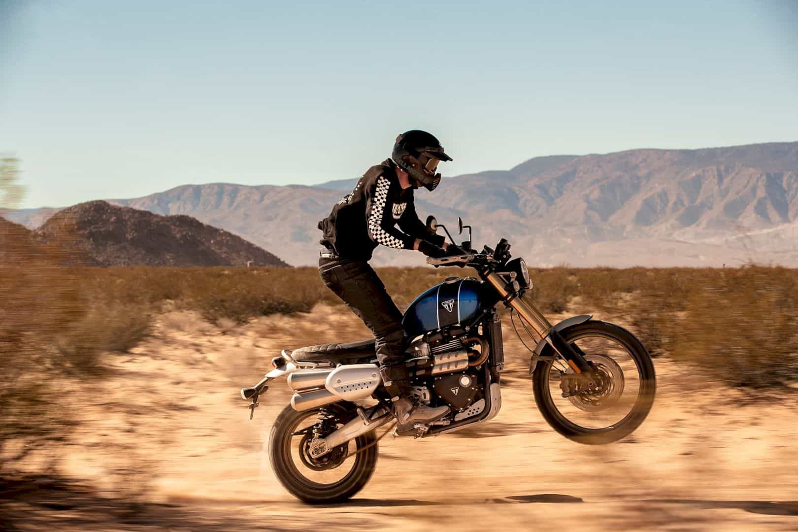 Triumph Scrambler 1200: The incredible new benchmark in scrambler capability and style