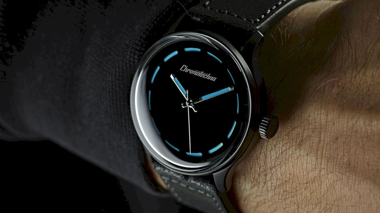 Chronotechna The Blackest Watch Ever Made 7
