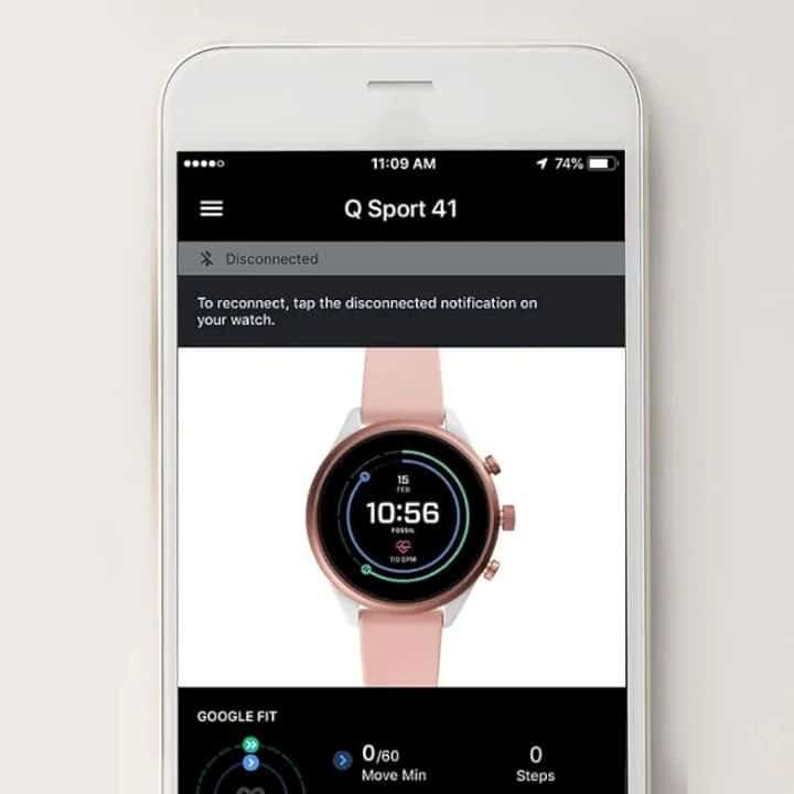 Fossil Sport Smartwatch 3