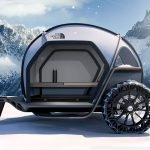 Futurelight Camper Concept: future of protection from the elements with a new fabric innovation