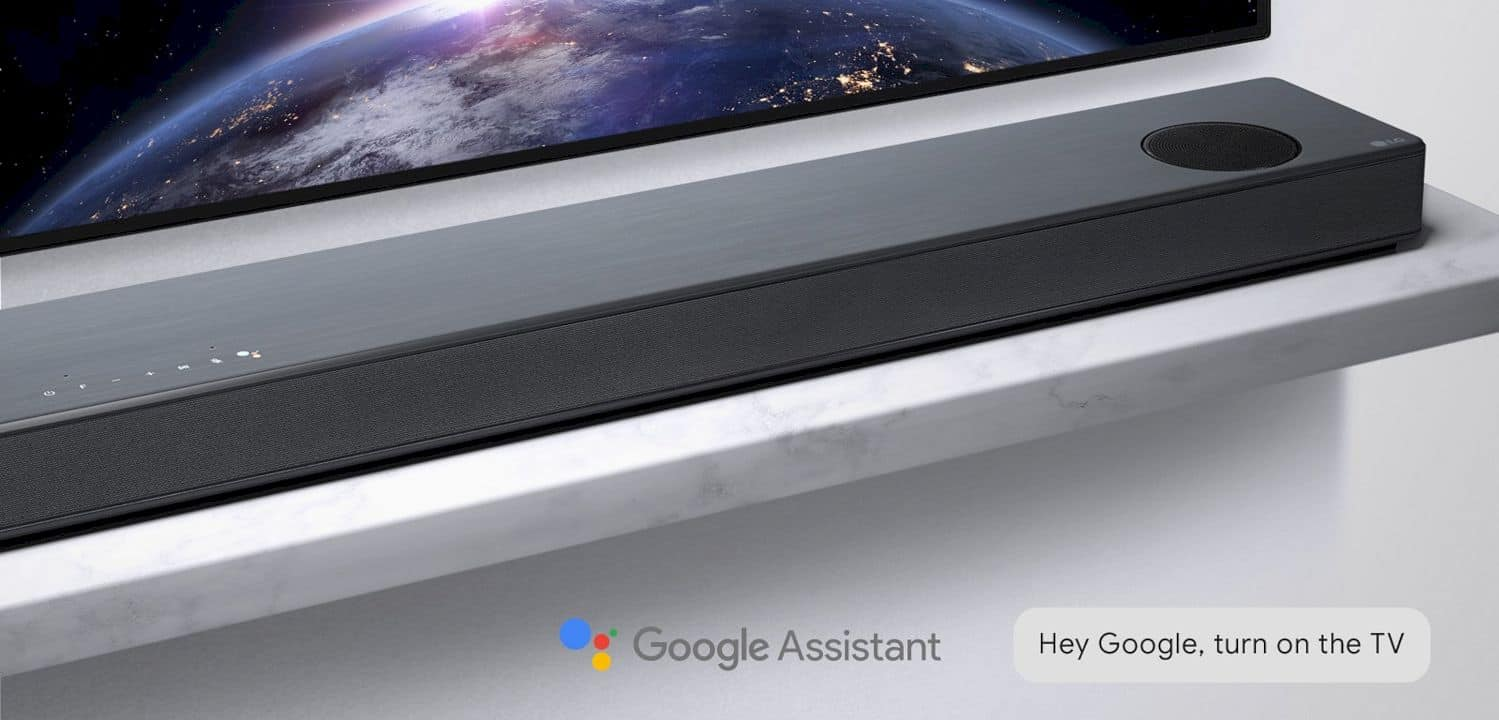 LG Soundbar Dolby Atmos with Google Assistant: Technology for