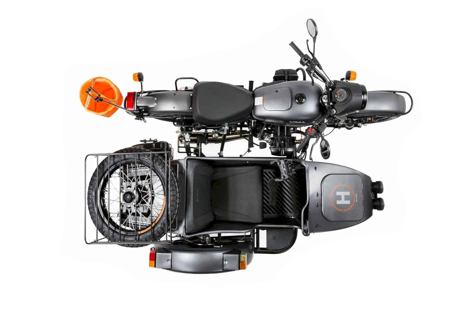 Limited Edition Ural Air: encourages riders to explore further on the ground and in the air